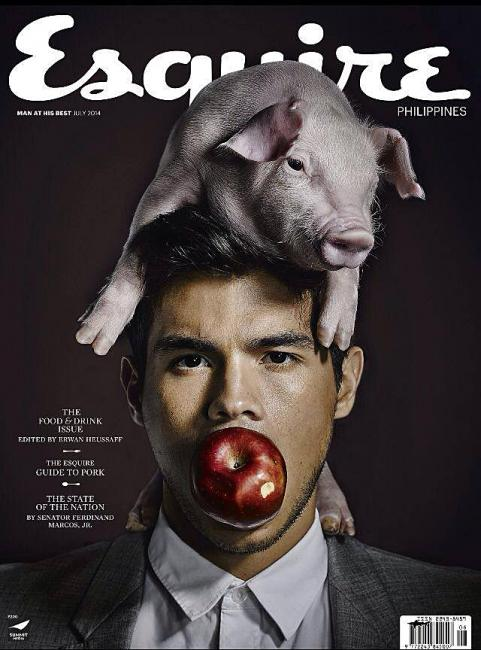 Best Esquire covers - unique photo editing styleRhere Popular Magazine
